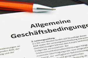 AGB - im Streitfall reicht die Möglichkeit zur Kenntnisnahme aus