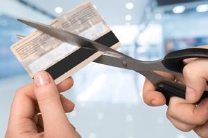 Kreditkarte kündigen - Vorlage