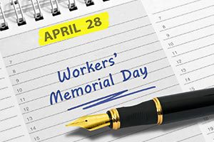 Der 28. April: Workers' Memorial Day